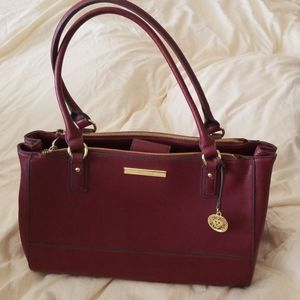 Anne Klein Large Tote Bag in Red